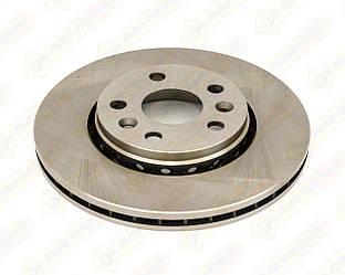 Гальмівний диск передній 280mm. на Renault Kangoo II 2008-> — AutoTechteile - 5040023