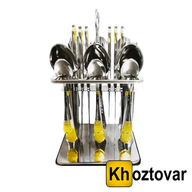 Набір столових приладів на підставці Zepter   24 предмета