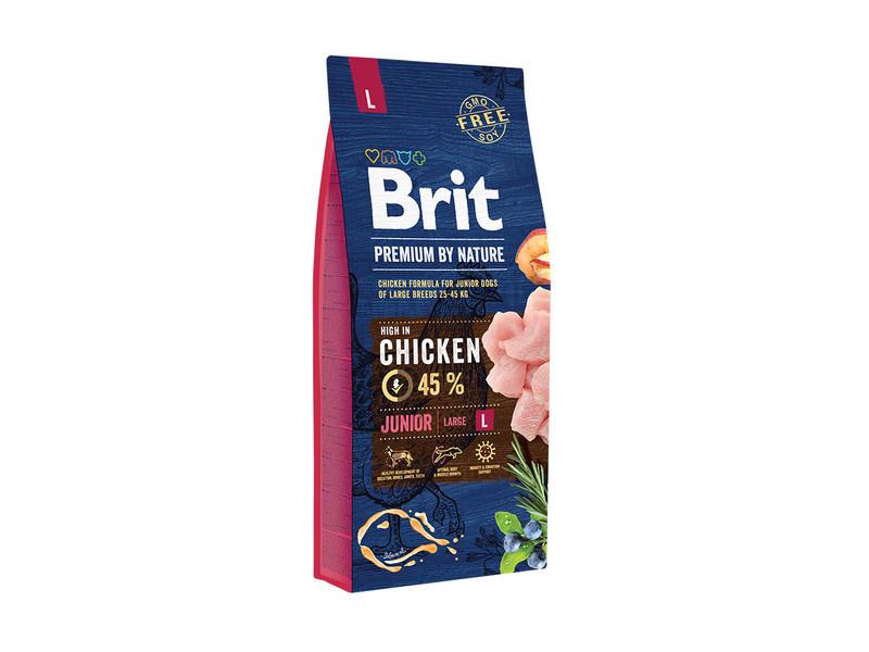Корм для собак Brit Premium Dog Junior L 15кг