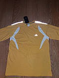 Мужской спортивный реглан Adidas желтый р.50 (XL), фото 2