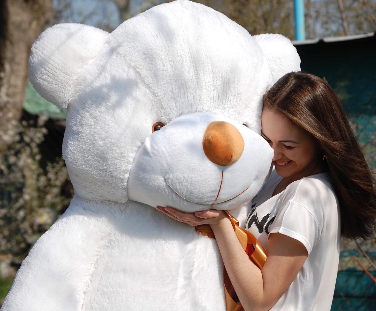 🌟🌟🌟🌟❤️❤️ Плюшевий Ведмедик в Подарунок. 200 см Великий. Плюшевий Ведмідь. М'яка іграшка Плюшевий Ведмедик 2 метри