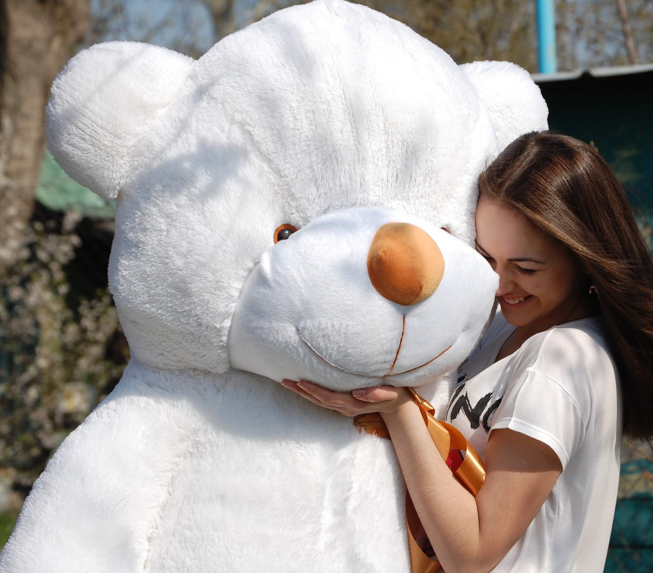 ⭐⭐🌟🌟🌟❤️Большой Плюшевый Медведь Белый 180 см. Большая Мягкая игрушка Мишка Плюшевый подарок девушке.