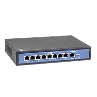 POE Switch 8 портов 100W