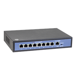 POE Switch 8 портов 100W