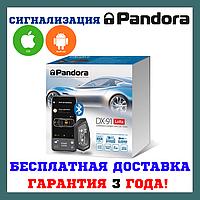 Надежная автомобильная сигнализация Автосигнализация Pandora DX 91 LoRaUA v.2, фото 1