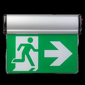 Указатель выхода аккумуляторный для аварийного освещения 220В