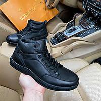 Зимние ботинки мужские Perfect disco D9087 черные