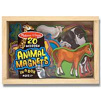 Развивающая игрушка Melissa&Doug Фигурки животных с магнитами (MD475)