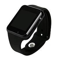 Умные Часы Smart Watch А1 black + Наушники подарок