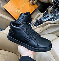 Зимние ботинки мужские Disco D9088 черные