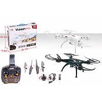 Квадрокоптер скамерой XS801W р/у 2.4G, аккум, 36см, свет