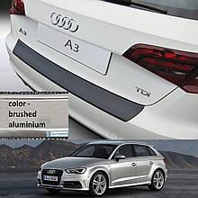 Пластикова захисна накладка на задній бампер для Audi A3 / S3 5Dr Sportback 2012+
