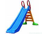 Гірка ігрова дитяча пластикова Mochtoys 2 м спуск для дітей, фото 4