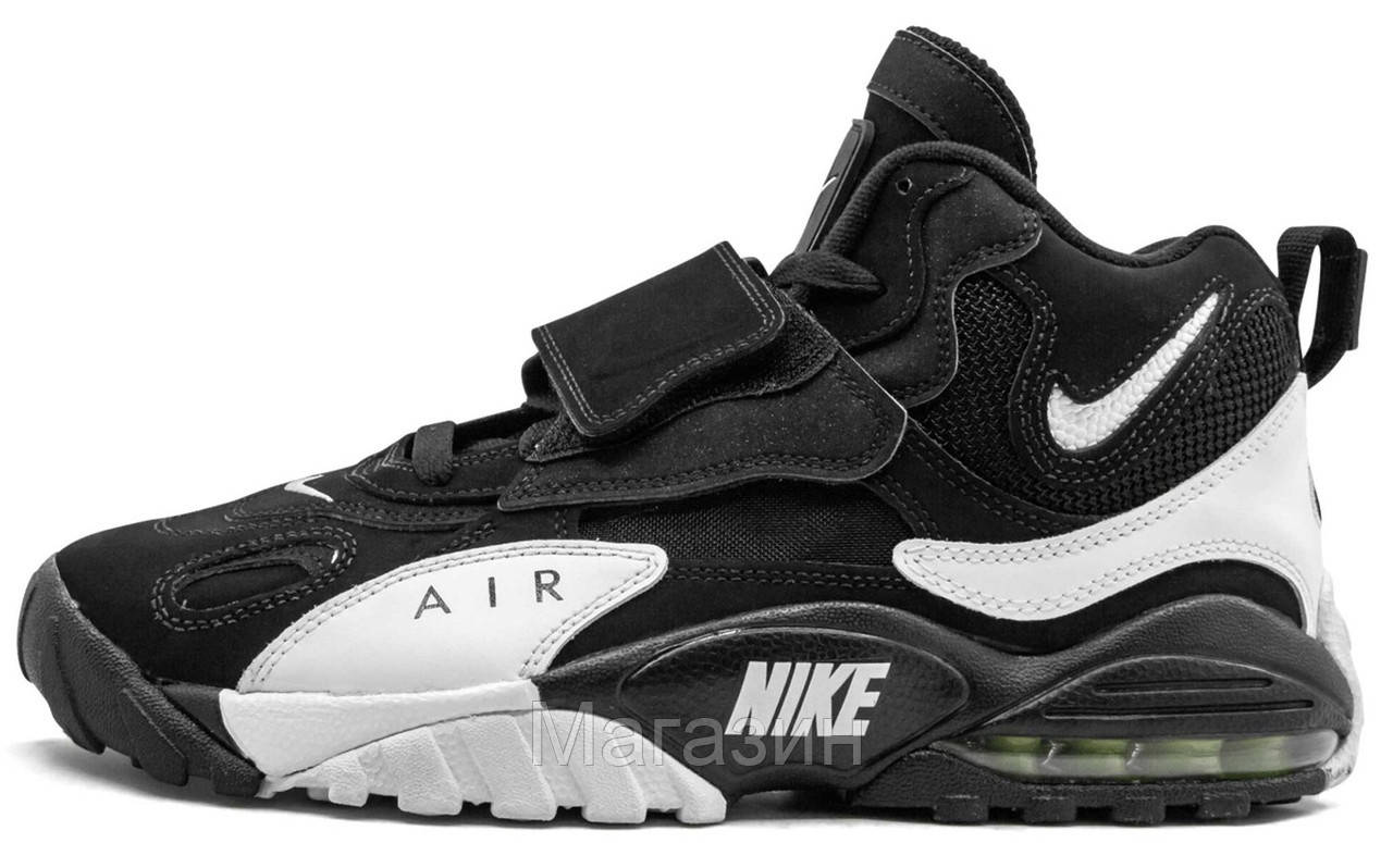Мужские кроссовки Nike Air Max Speed Turf Black Найк Аир Макс черные