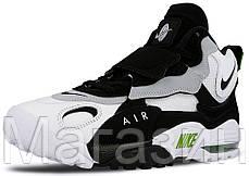 Мужские кроссовки Nike Air Max Speed Turf White/Black Найк Аир Макс белые с черным, фото 2