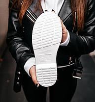 Женские зимние ботинки Dr. Martens 1460 White Доктор Мартинс С МЕХОМ белые Мартинсы, фото 3