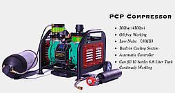 Автоматический безмаслянный компрессор высокого давления 300 Атм