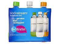 R3-550017, Бутылки для газировки (2 шт.), , салатовый-оранжевый