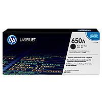 Картридж HP CLJ  650A black /CP5525 (CE270A)