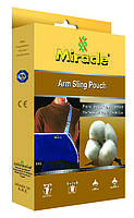 Бандаж косынка для поддержки руки мягкий Miracle (повязка на руку) код 0062A