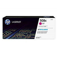 Картридж HP CLJ  508X Magenta M552dn/M553dn/n/x (CF363X)
