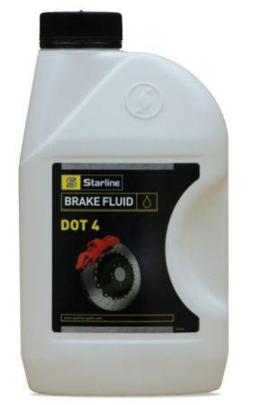 Тормозная жидкость синтетическая Starline DOT 4 (1л)