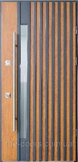 Двері вхідні STRAJ Proof модель Ріо Z Loft