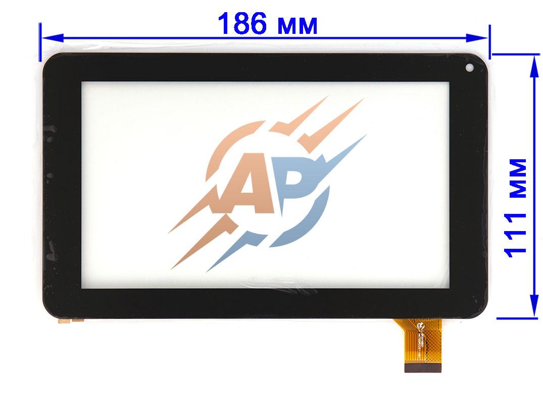 Тачскрин сенсор Nomi A07000, A07002, A07003 черный