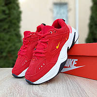 Женские кроссовки Nike M2K Tekno (красные)