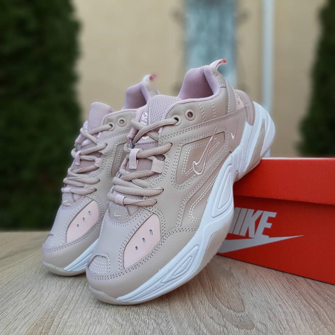 Женские кроссовки Nike M2K Tekno (пудровые)