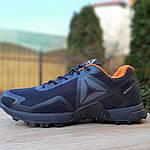 Мужские кроссовки Reebok Workout 2.0 (черно-оранжевые), фото 2