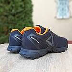 Чоловічі кросівки Reebok Workout 2.0 (чорно-помаранчеві), фото 3