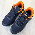 Мужские кроссовки Reebok Workout 2.0 (черно-оранжевые), фото 4