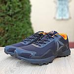 Мужские кроссовки Reebok Workout 2.0 (черно-оранжевые), фото 5