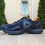 Мужские кроссовки Reebok Workout 2.0 (черно-оранжевые), фото 6