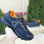 Мужские кроссовки Reebok Workout 2.0 (черно-оранжевые), фото 7
