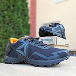 Мужские кроссовки Reebok Workout 2.0 (черно-оранжевые), фото 8