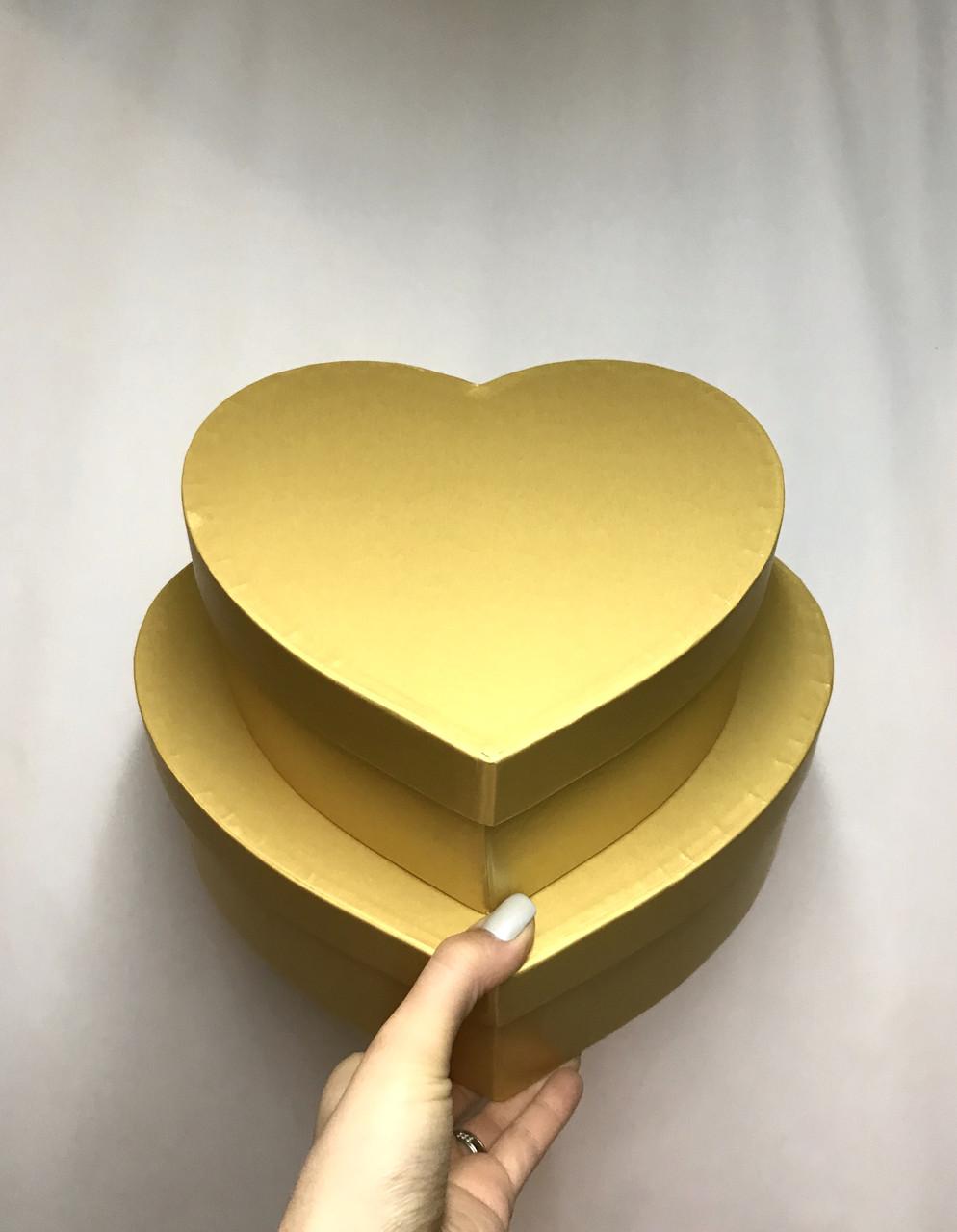Сердце двойное с крышкой