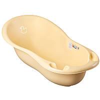 """Детская ванночка для купания """"Уточка"""" 102 см (Желтая)"""
