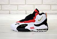 Мужские кроссовки Nike Sportswear Air Max Speed Turf (бело-черные с красным)