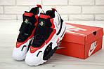 Чоловічі кросівки Nike Sportswear Air Max Speed Turf (біло-чорне з червоним), фото 2