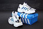 Мужские кроссовки Adidas Magmur (белые), фото 4