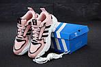 Женские кроссовки Adidas Magmur (пудрово-белые), фото 4