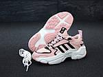 Жіночі кросівки Adidas Magmur (пудрово-білі), фото 5