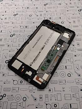 Дисплей Samsung  Galaxy Tab 3 SM-T211 в белый модуль в сборе Оригинал с разборки