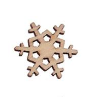 Фигурка ажурная снежинка 20х19 мм