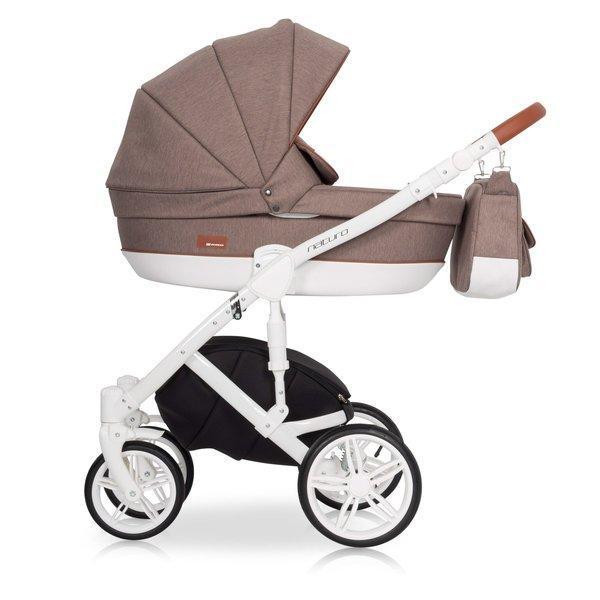 Детская универсальная коляска 2 в 1 Riko Naturo 03 Mocca