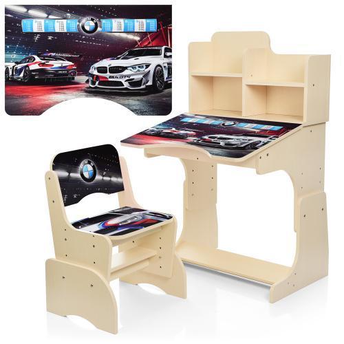 Детская парта-трансформер со стульчиком W 2071-84-6 BMW