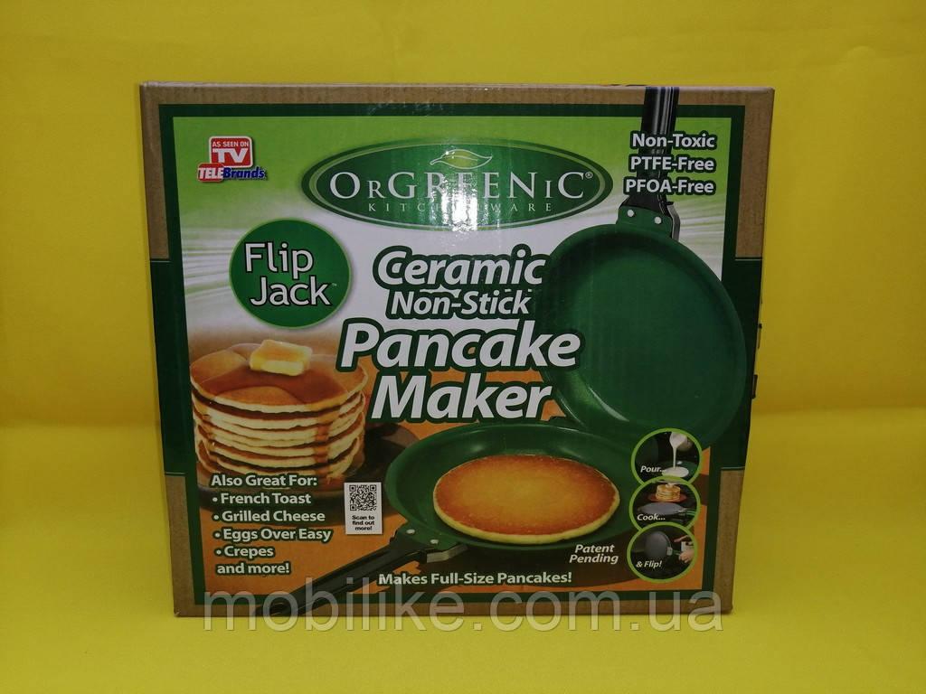 Двухсторонняя сковорода для  блинов Pancake Maker