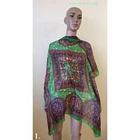 Индийские шёлковый шарф / платок